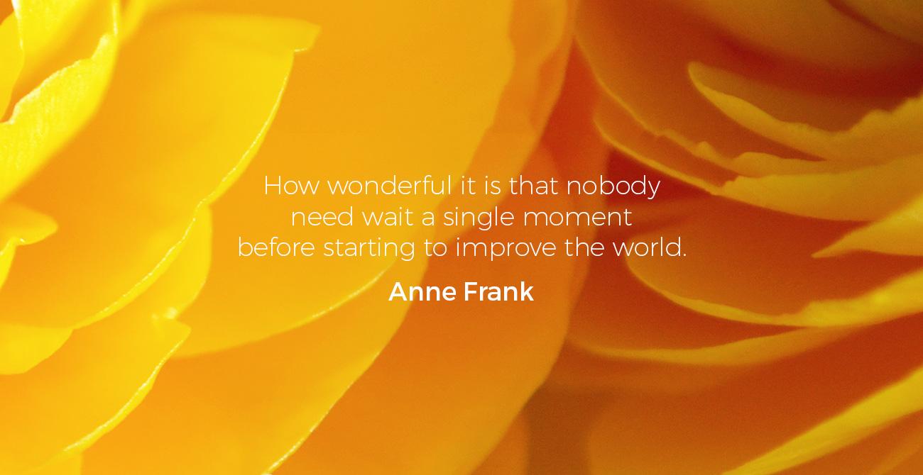 Organic Intelligence Renoncula Anne Frank